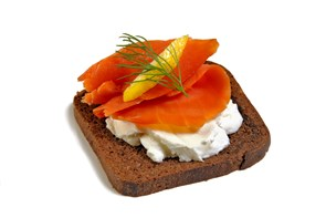 Lox on Rye Appetizer